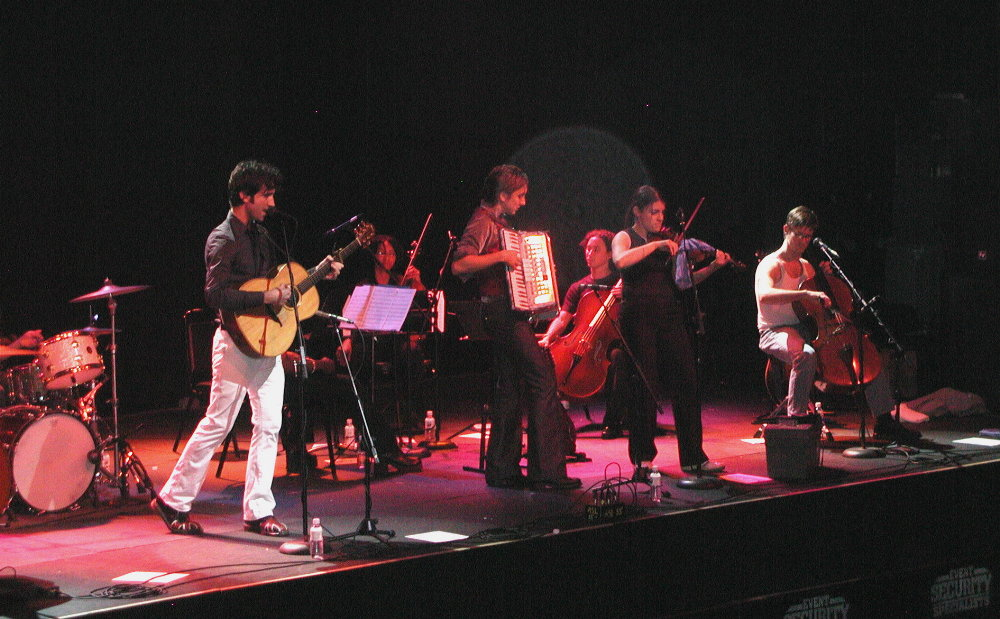 the band with amanda